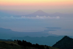 Lombok's Rinjani In The Clouds